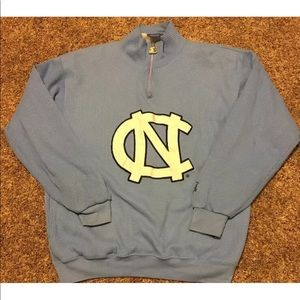 Starter North Carolina Tarheels Mock Neck 1/4